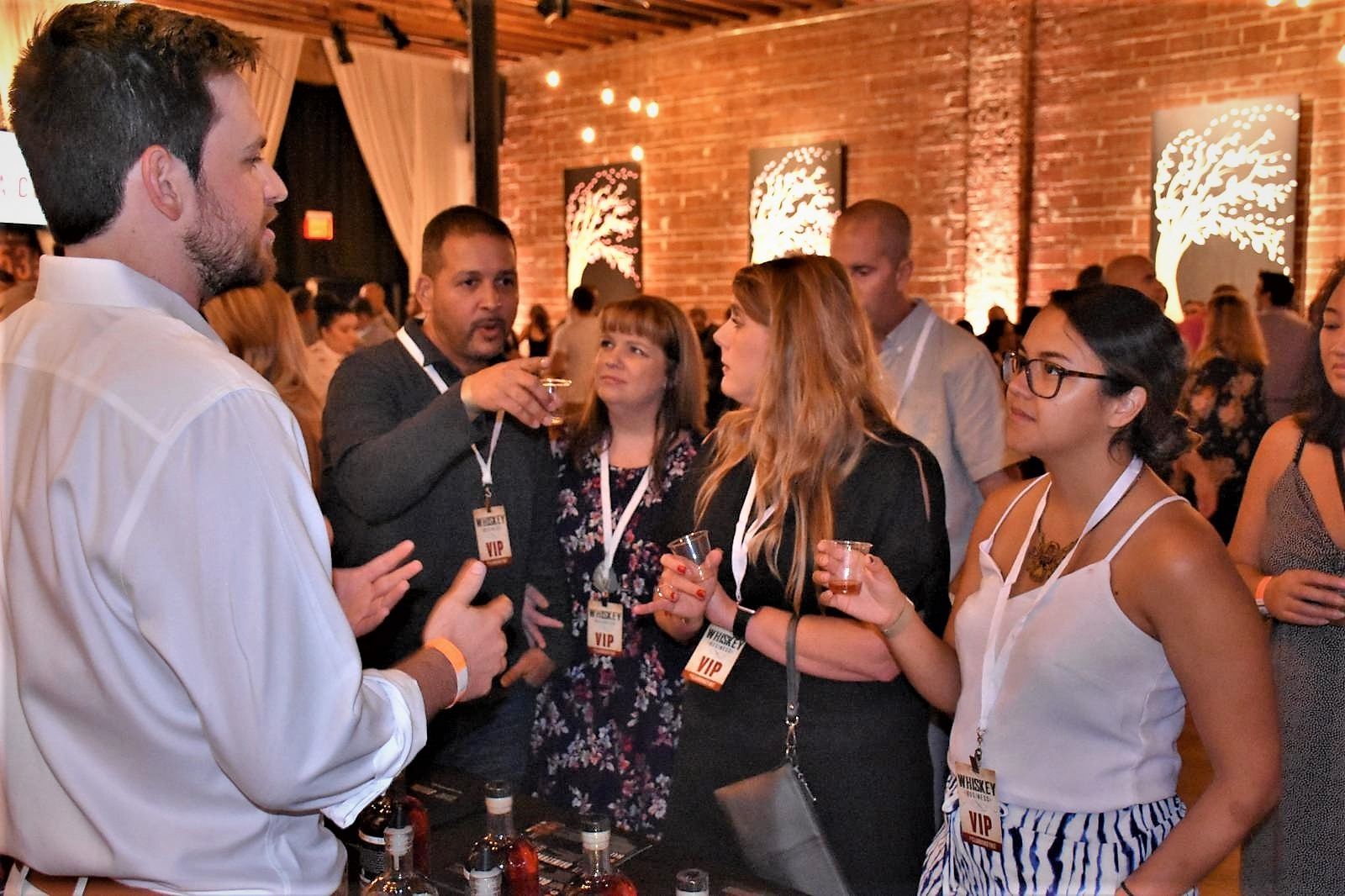 Whiskey Drinking Trade Show WHISKEY BUSINESS at historic downtown St. Pete venue NOVA 535