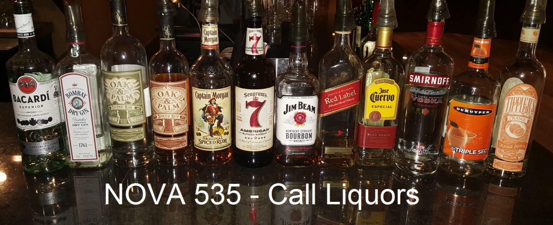 NOVA 535 Call Liquors