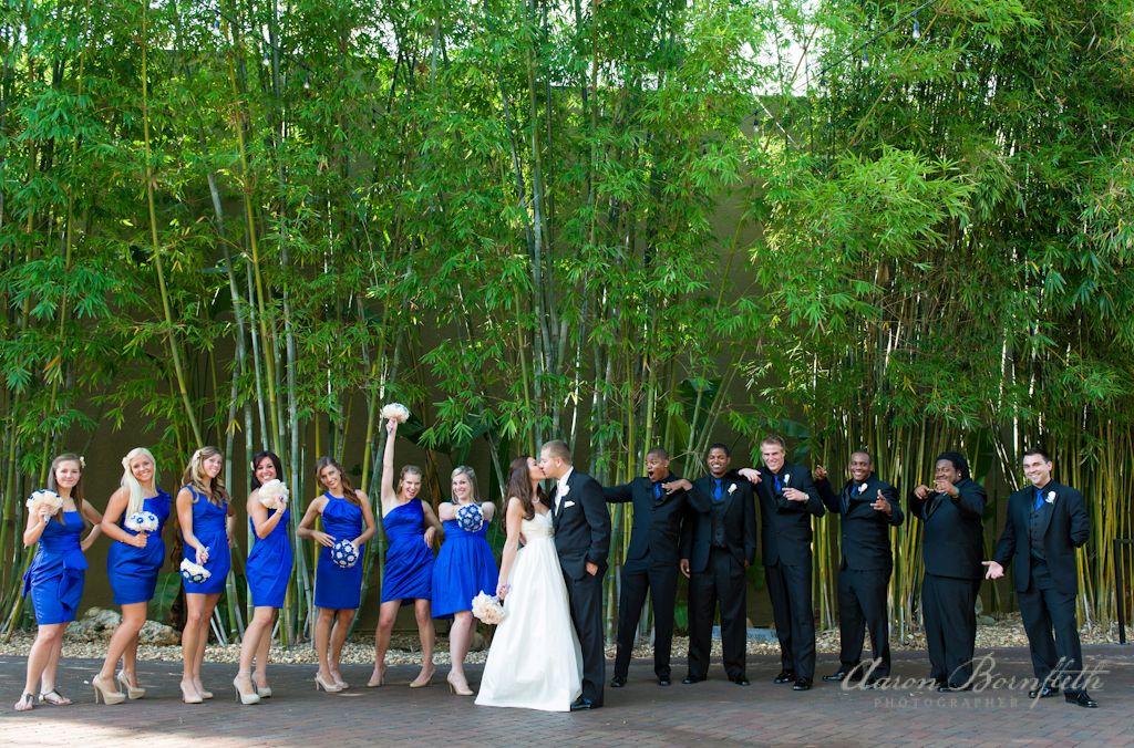Florida outdoor courtyard wedding ceremonies at NOVA 535