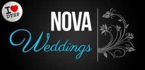 NOVA weddings logo with DTSP