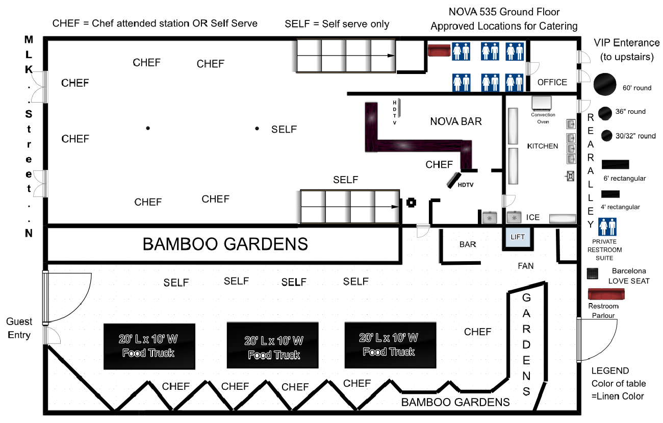 2016 GROUND-floorplan-NOVA535-approved-buffet-catering chef food truck locations