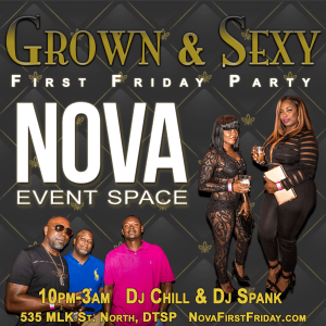 First Friday at NOVA 535 in Downtown St. Pete