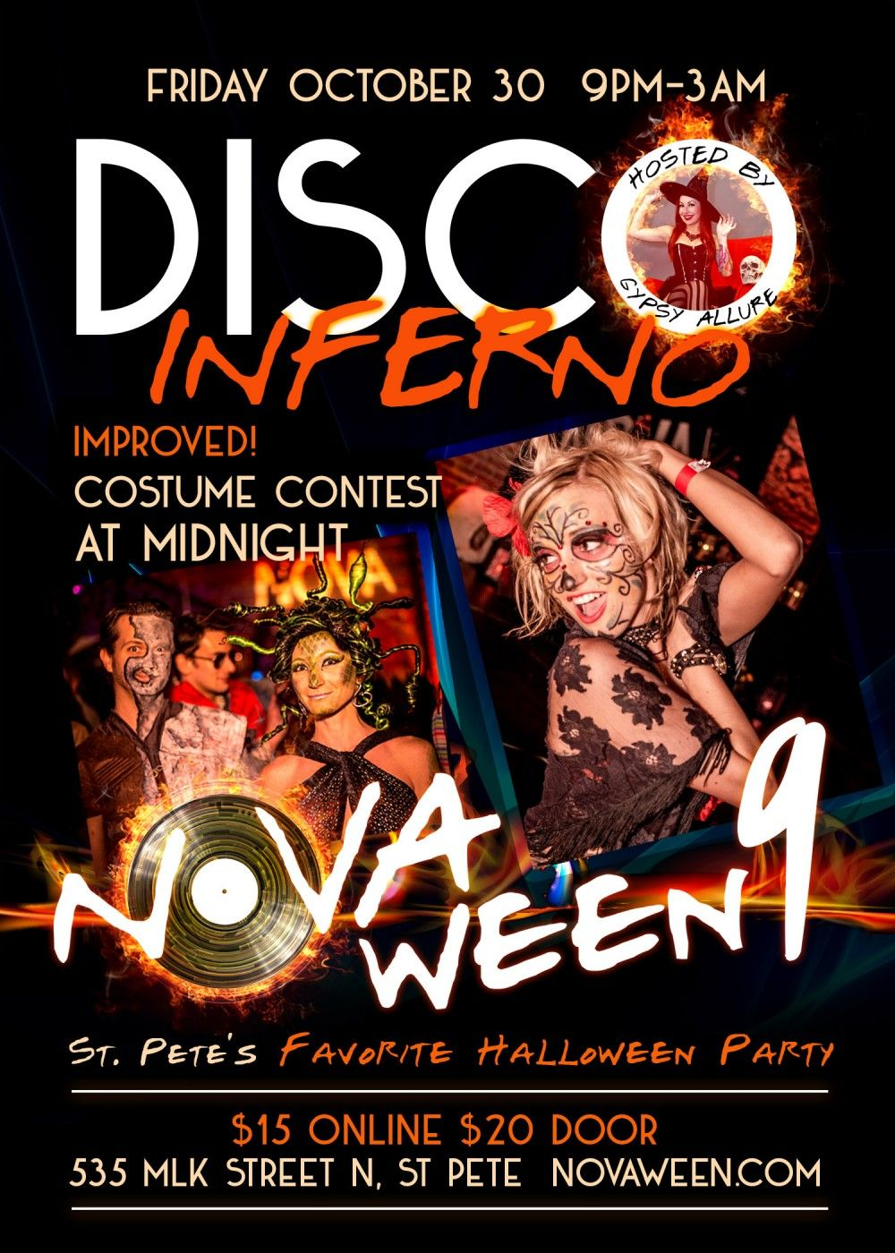 Novaween 9 flyer rear