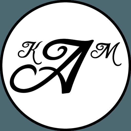 KaM Initials Gobo Logo