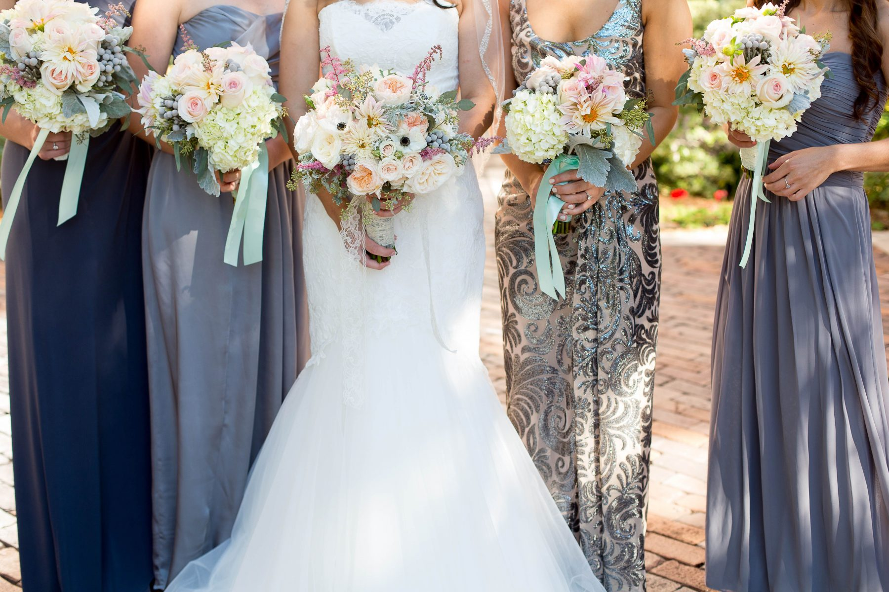 100 grey bridesmaid dresses aliexpress com buy tea length grey bridesmaid dresses 8 grey bridesmaid dresses with pastel wedding bouquets nova 535 ombrellifo Gallery