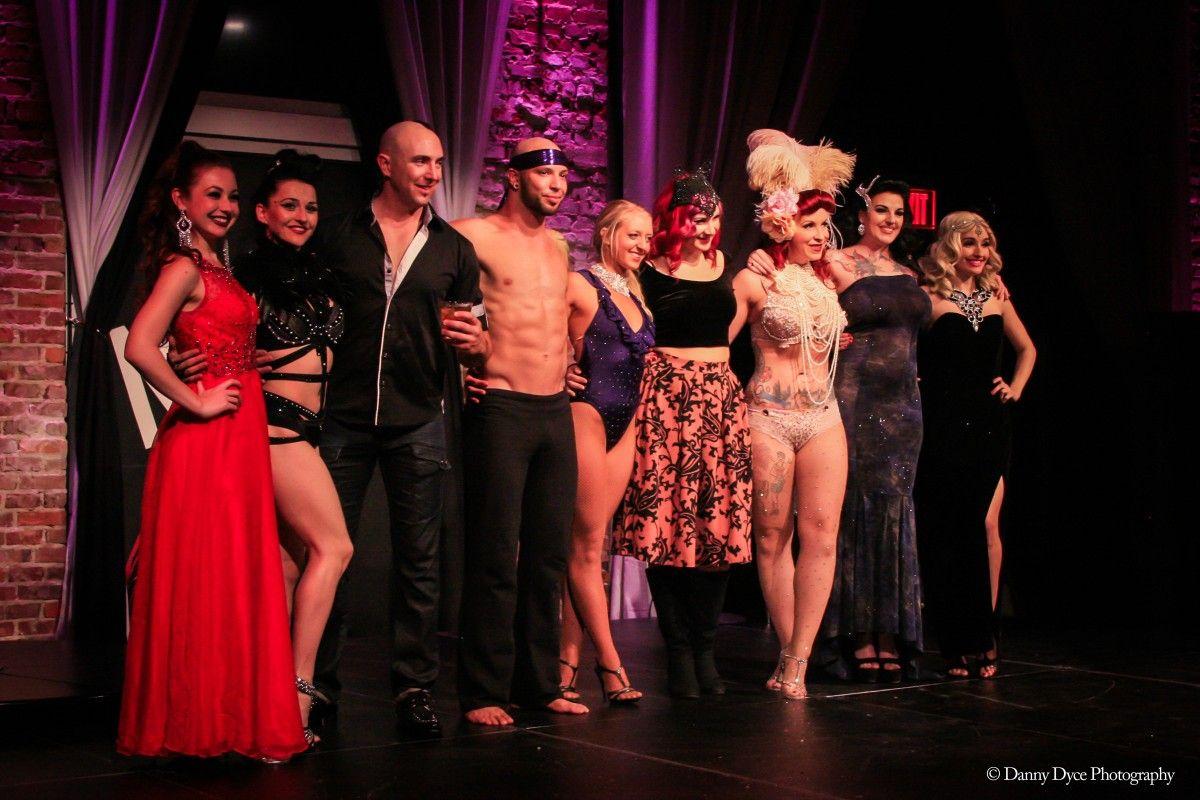 Le Cirque show at NOVA 535 downtown St. Pete Feb 2015