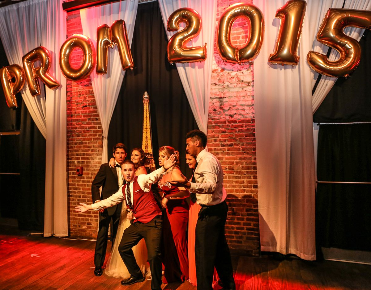 2015 Dixie Hollins Prom at historic venue NOVA 535 downtown St. Pete