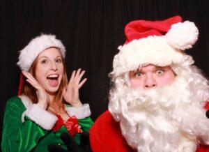 NOVA NOEL Bad Santa with sexy elf
