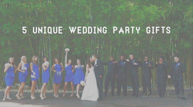 5 unique wedding party gifts nova 535 unique event space junglespirit Image collections