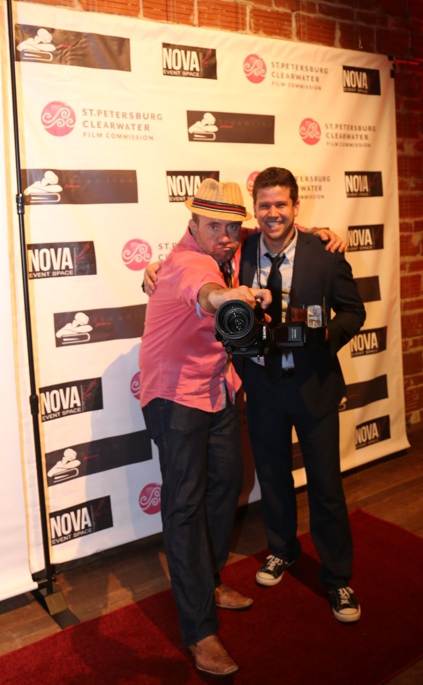 Photographer Barry Lively at NOVA 535 for Unsullied party