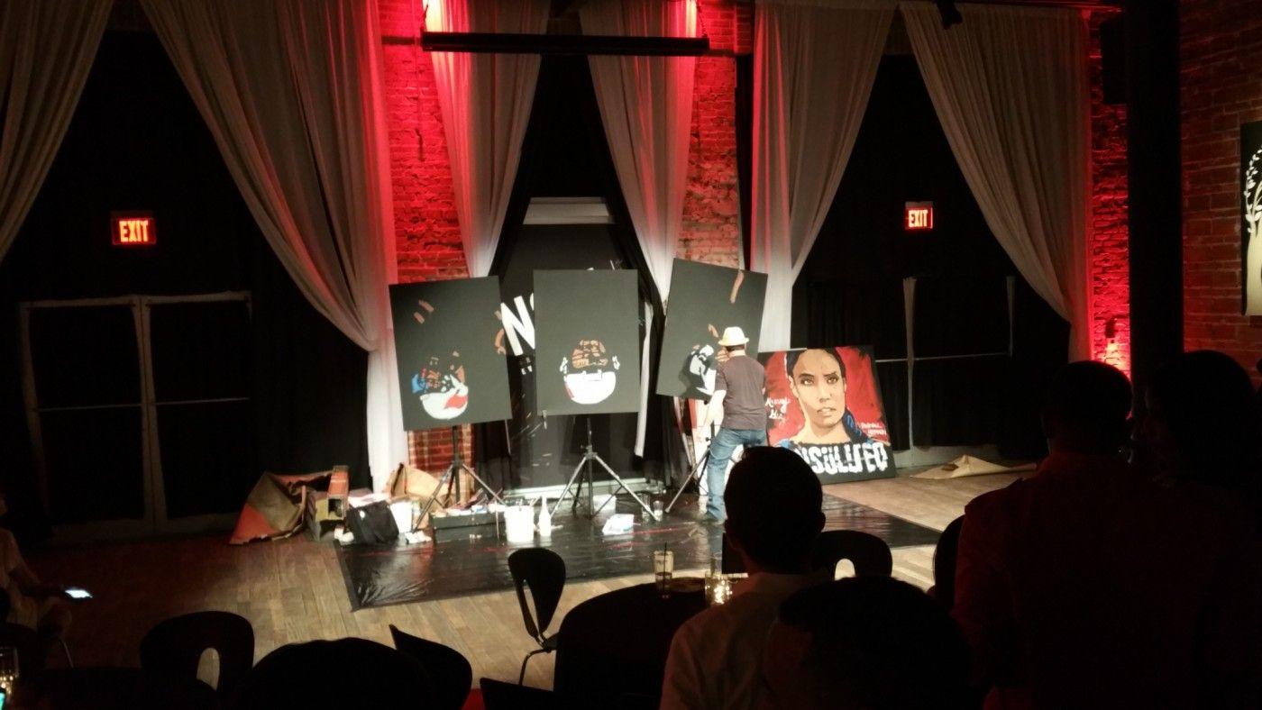 Randall Hedden live art show at NOVA 535