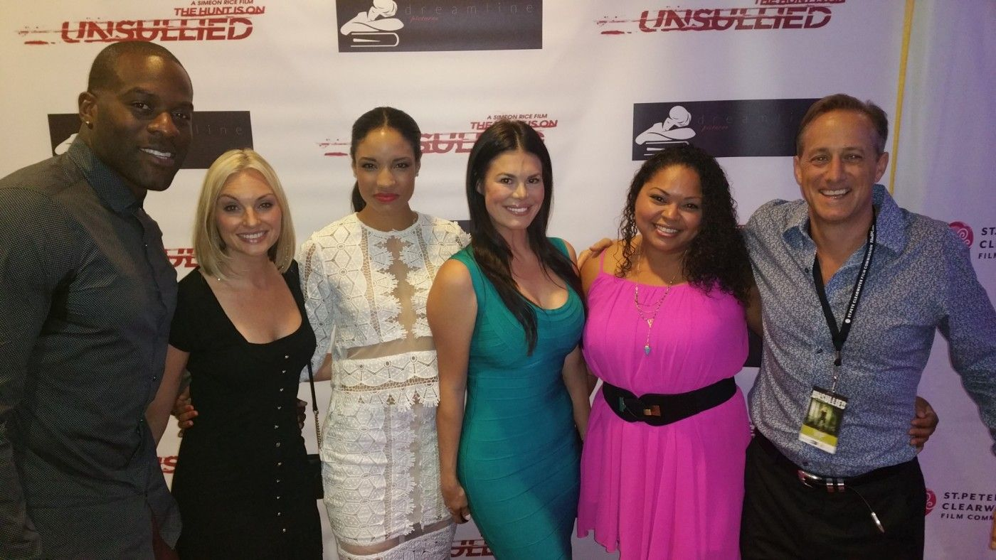 Red carpet for Unsullied film downtown st. pete