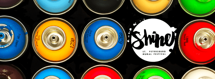 SHINE St Pete Mural festival