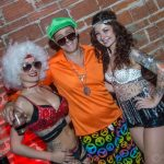Mayven Michael and Gypsy Allure at NOVAWEEN 9 downtown St. Pete