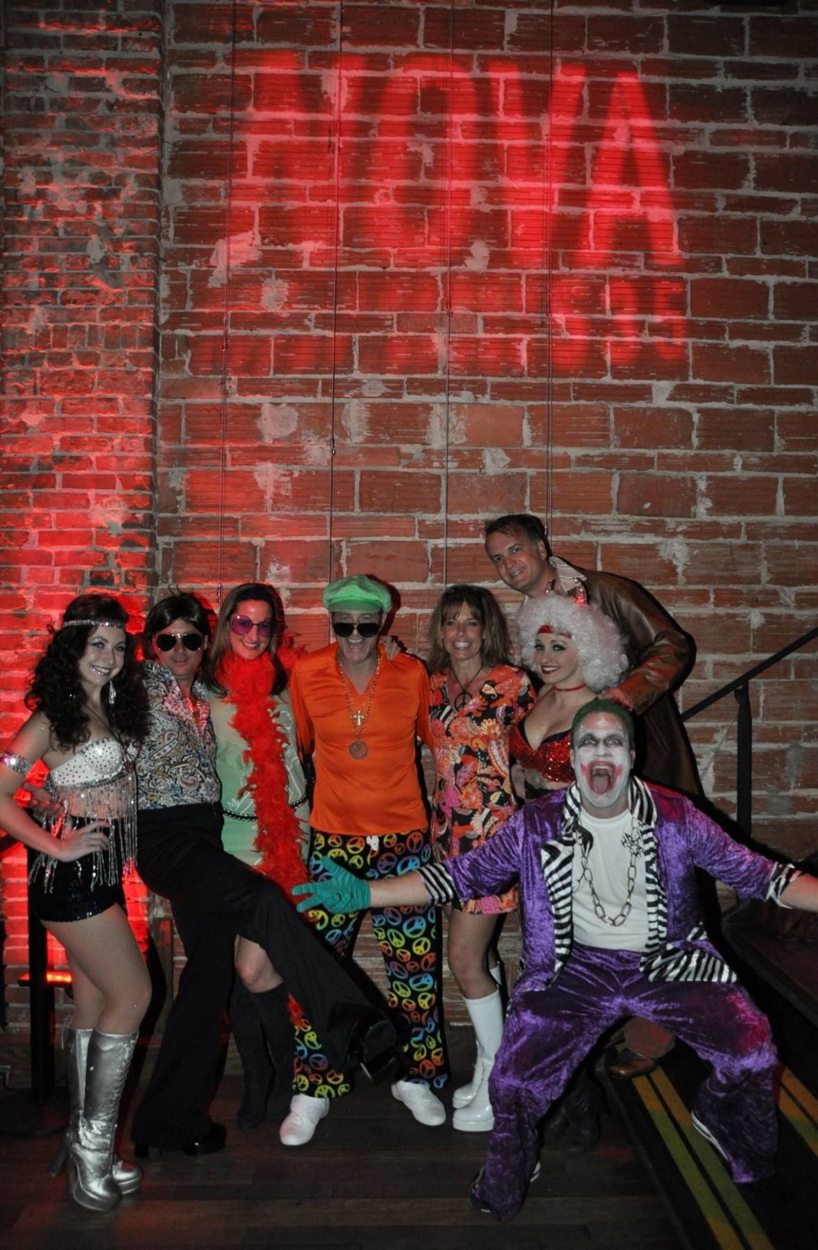 Novaween 9 at venue nova 535 costumed friends