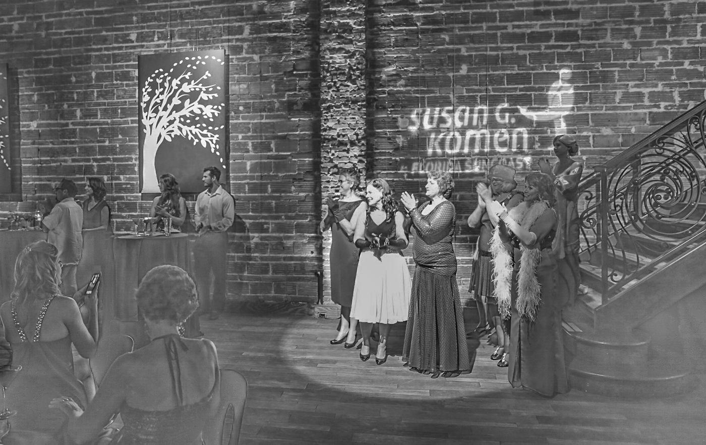 Susan G. Komen fundraiser at NOVA 535 downtown St. Petersburg, Florida