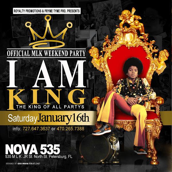 2016 01-16 I AM KING Official MLK Weekend Party at NOVA 535 DTSP