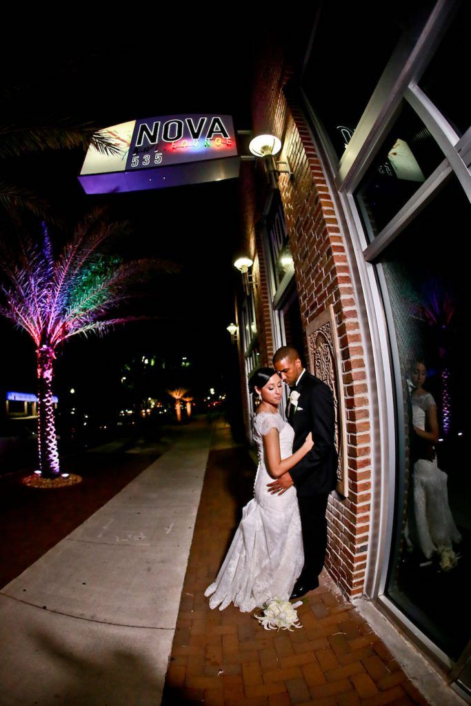 St. Pete Bride and Groom Wedding Portrait | NOVA 535