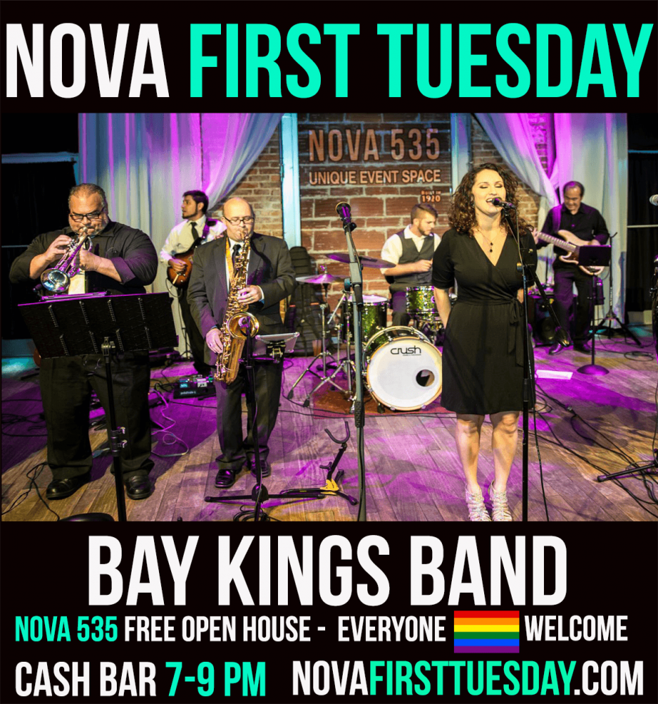 Nova First Tuesday at historic Downtown St. Pete venue NOVA 535