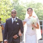 Outdoor Wedding Ceremony in Bamboo Garden | Downtown St. Pete Wedding Venue NOVA 535