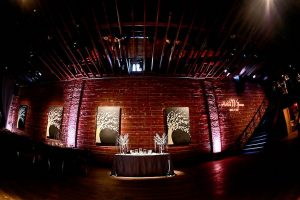 Modern, Indoor Pink Wedding Reception   Downtown St. Pete Wedding Venue NOVA 535