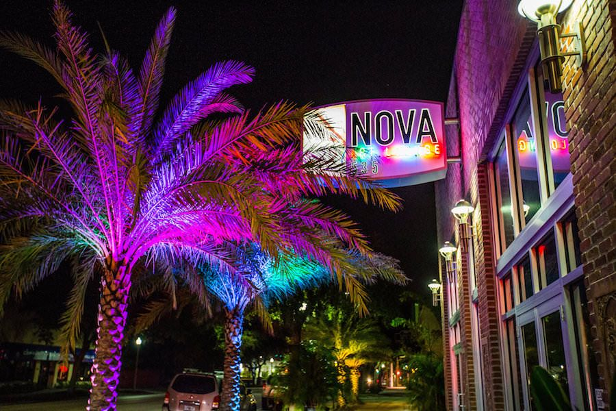 Modern, Unique Downtown St. Pete Wedding Venue NOVA 535 | outdoor st. pete wedding