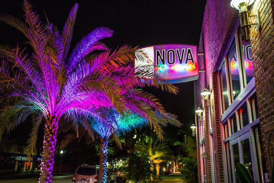 Modern, Unique Downtown St. Pete Wedding Venue NOVA 535 | outdoor st. pete wedding