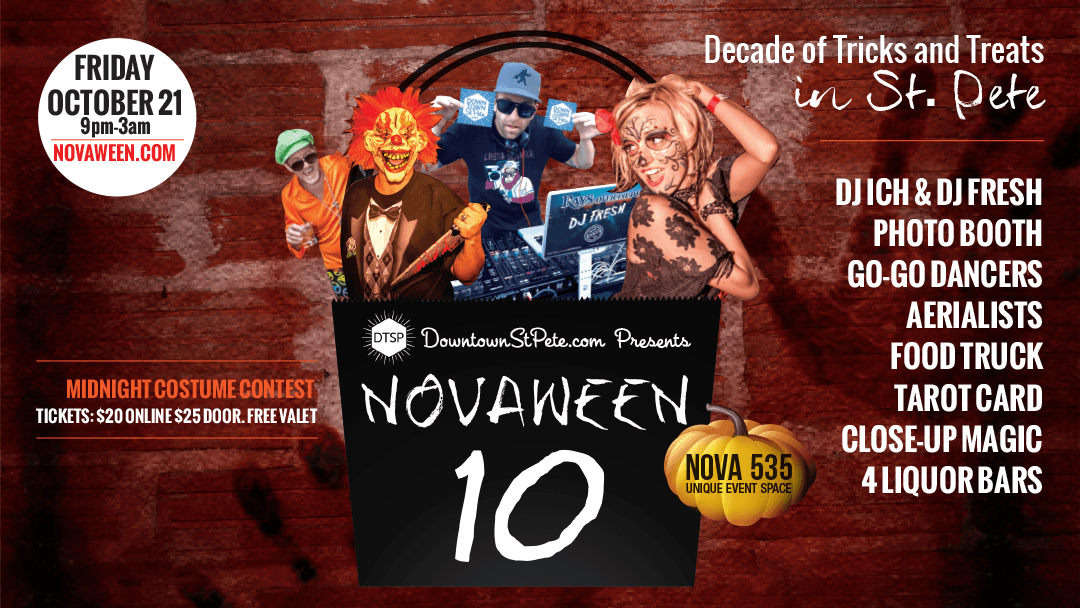 A Decade of tricks and treats in St. Pete novaween 10