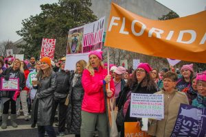 2017 Women's March St. Pete Held at Downtown St. Pete historic venue NOVA 535. Saturday February 4, 2017 4:00 pm to 7:00 pm The power of love is always greater than the power of hatred. And LOVE WOKE UP.