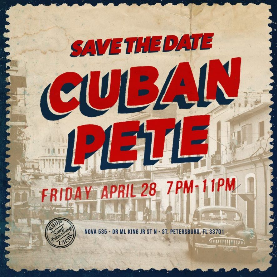 Cuban Pete at NOVA 535 in DTSP