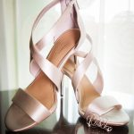 Blush Pink Satin Wedding Shoes