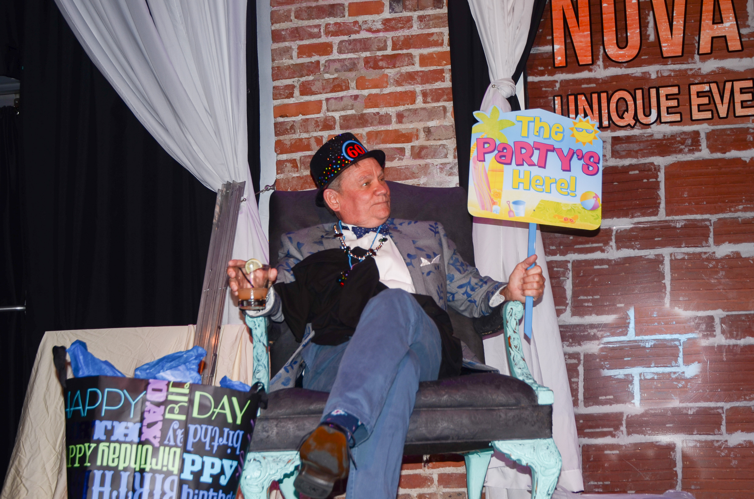 60th Birthday Roast of Jon RENO LaBudde at historic DTSP venue NOVA 535