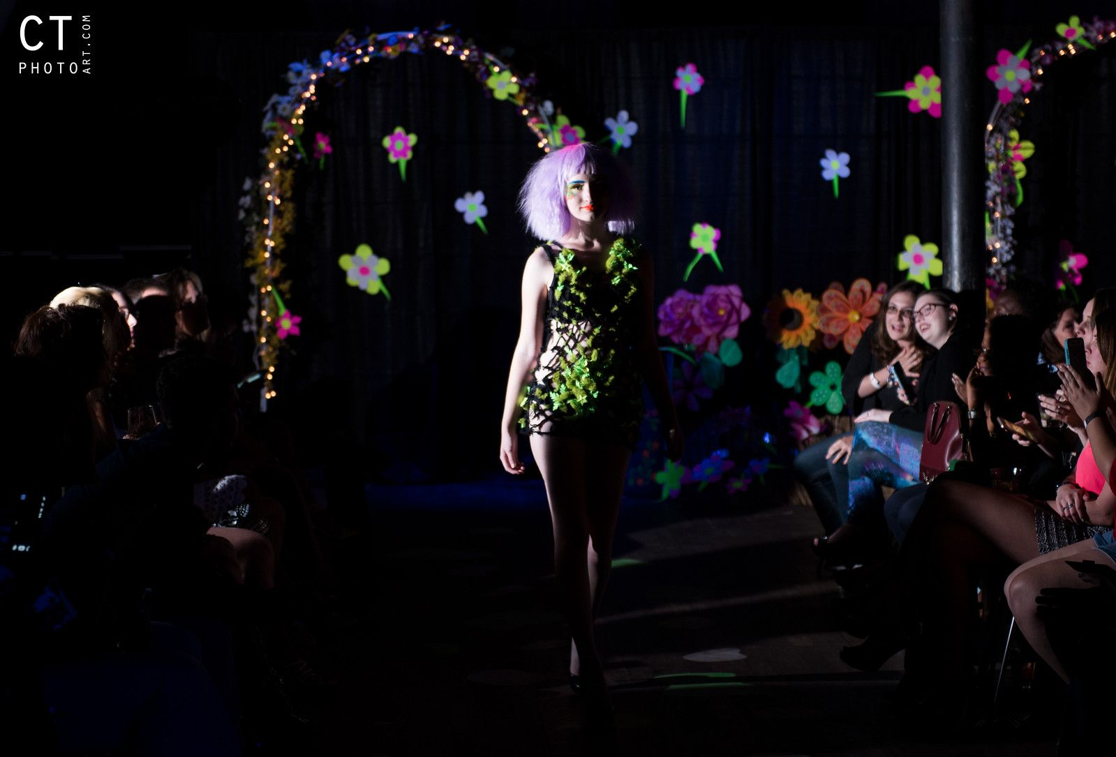 Luminescence Blacklight Fashion Show
