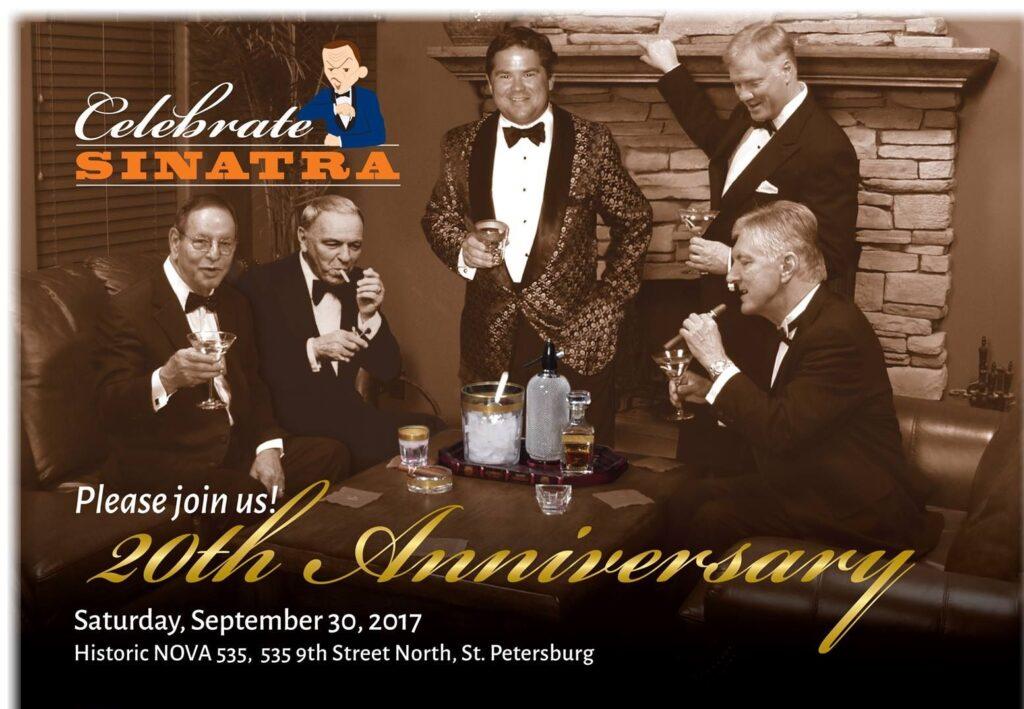 Celebrate Sinatra Saturday Sept 30, 2017 at NOVA 535 flyer