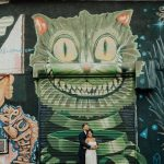 Modern Downtown St Pete Wedding Portrait With Street Art