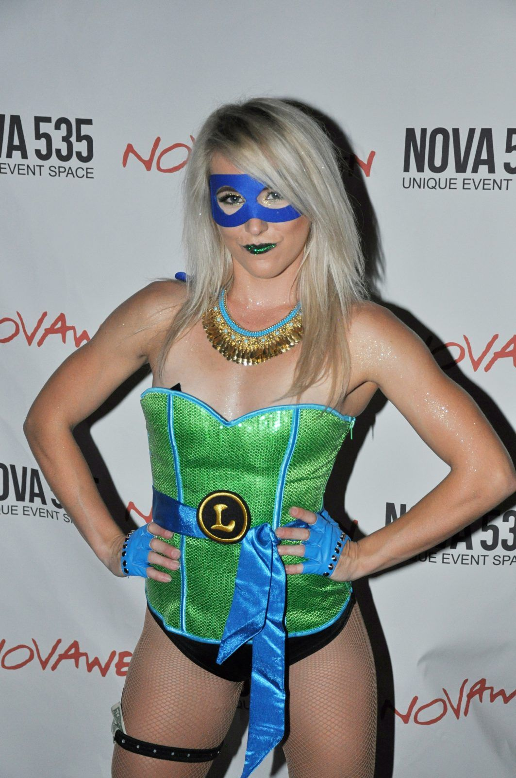 Team Novaween He11even at historic DTSP venue NOVA 535 downtown St. Pete, Florida