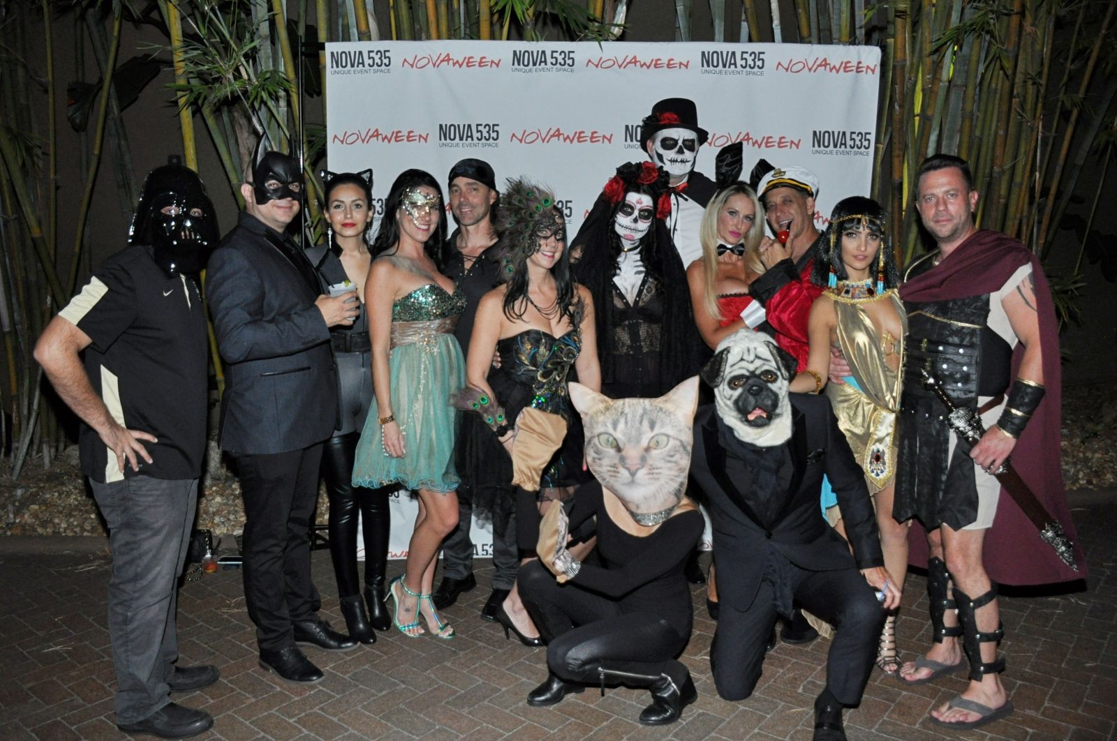 Our Friendly Freakshow Novaween He11even ensured we all celebrated 11 years of Downtown St. Pete's favorite Halloween Party Novaween on October 20, 2017 at historic DTSP venue NOVA 535