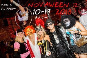 2018 Friday October 19 is Novaween 12 Halloween Party at NOVA 535 Downtown St Pete