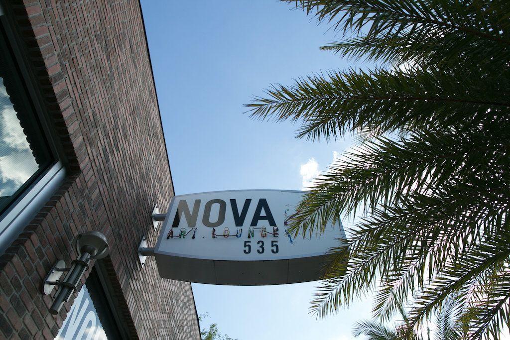 Downtown St Pete wedding venue NOVA 535 sign