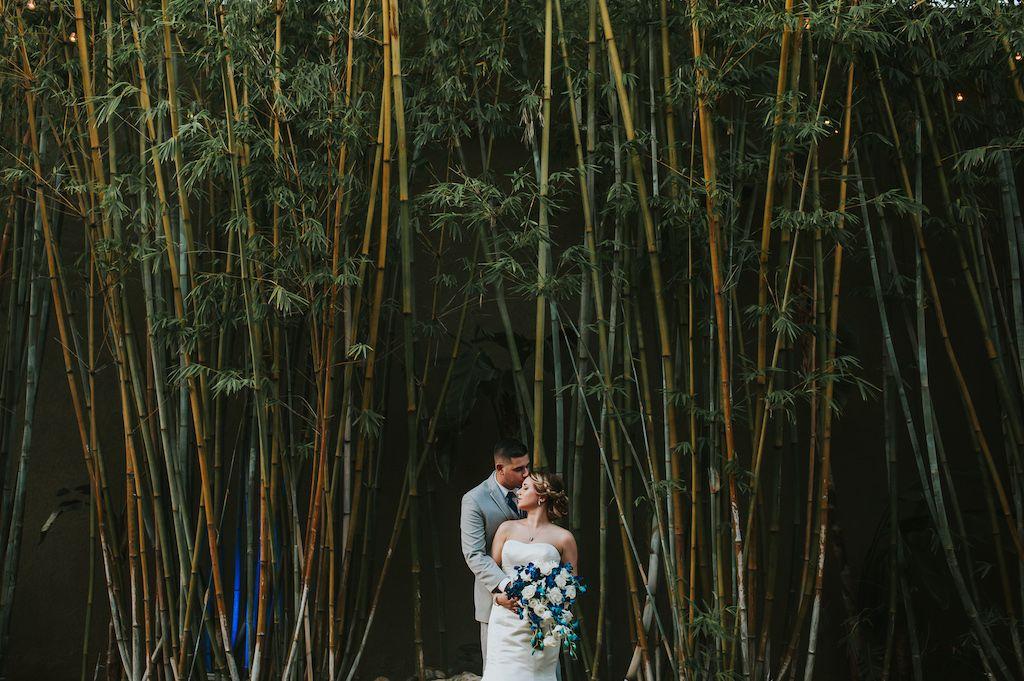 Blue and white wedding at NOVA 535