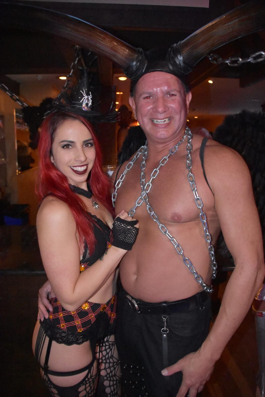 2018 11-19 NOVAWEEN 12 Official Photos by Ann Coffman - sexy Stevie and Michael