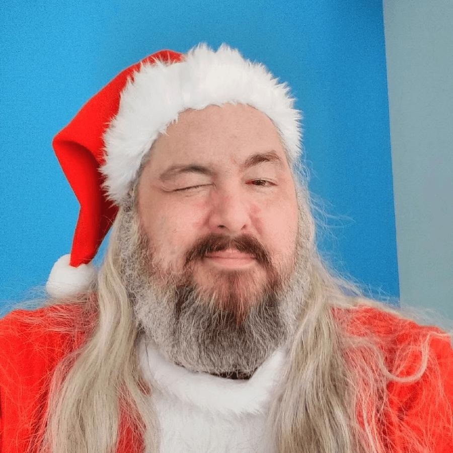 Chris 'Santa' Jenkins at NOVA NOEL 11 downtown St. Pete venue NOVA 535 Thursday night Dec 20, 2018