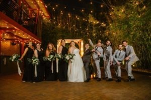 2021 Taryn and Justin Black White and Grey Courtyard Wedding at St. Pete venue NOVA 535