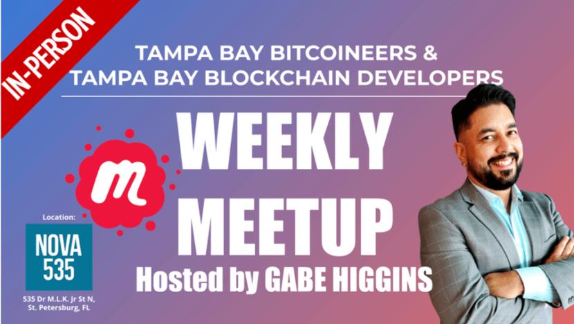 Tampa Bay Bitcoin Meetup at NOVA 535