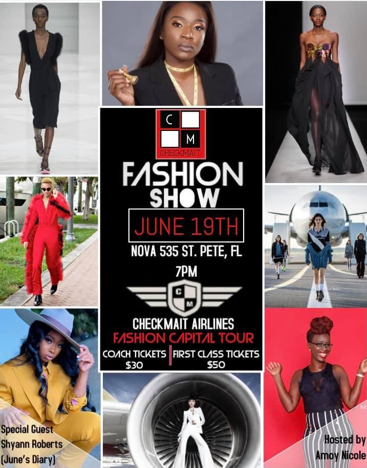 CheckMait Fashion Show Summer 2021 at NOVA 535 on Saturday June 19, 2021