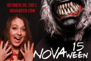 2021 10-30 Novaween 15 Time Machine at historic downtown St. Pete venue NOVA 535, from 9pm to 3 am