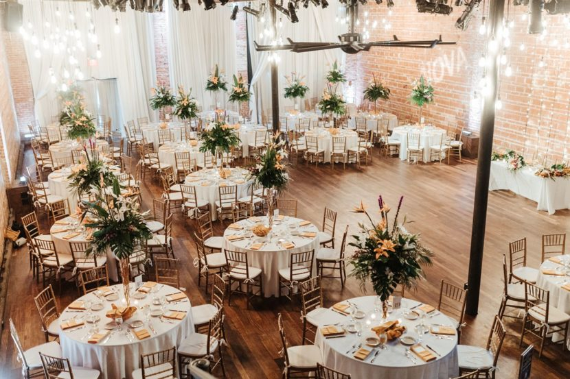 2021 Jennifer and Todd Green and White Wedding Reception - Ashley Izquierdo Photo