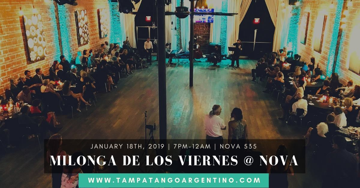 Friday 2019 01-18 Argentine Tango at NOVA 535