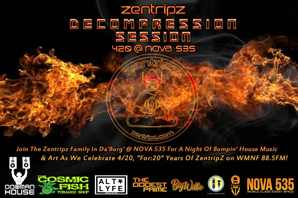 2019 04-20 Dood Zentrips 420 Party at NOVA 535 downtown St. Pete - flyer REAR