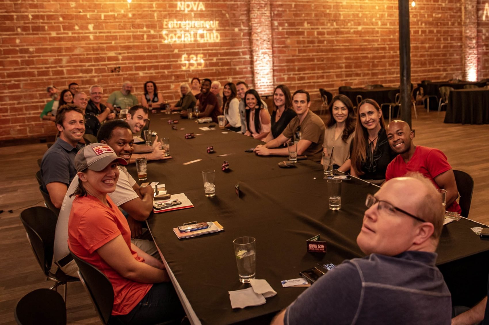 2019 10-24 Entrepreneur Social Club at historic Downtown St. Pete venue NOVA 535